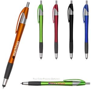 Archer2 Stylus Gripper Pen with Blue Ink